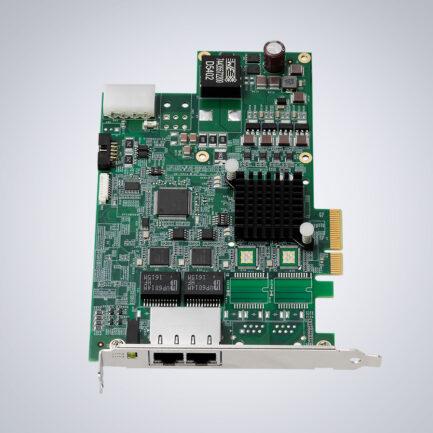 ADLINK2-CH PCIe GigE Vision PoE+ Card
