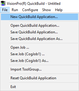 Using Cognex VisionPro QuickBuild for Windows | LUCID Vision