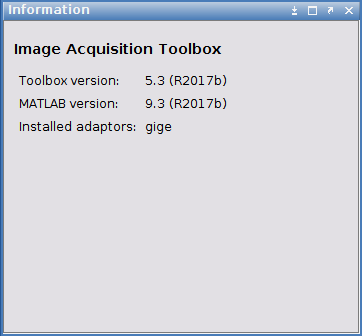 Using MATLAB Image Acquisition Toolbox for Linux | LUCID