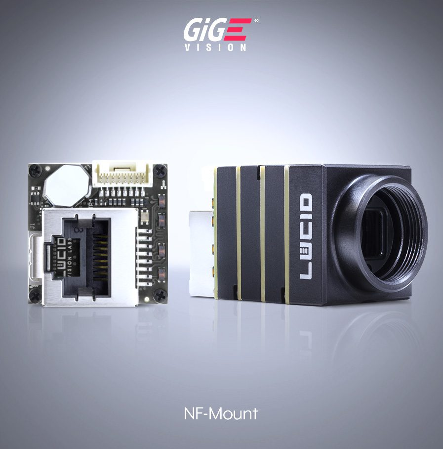 Phoenix NF-mount Camera with RJ45