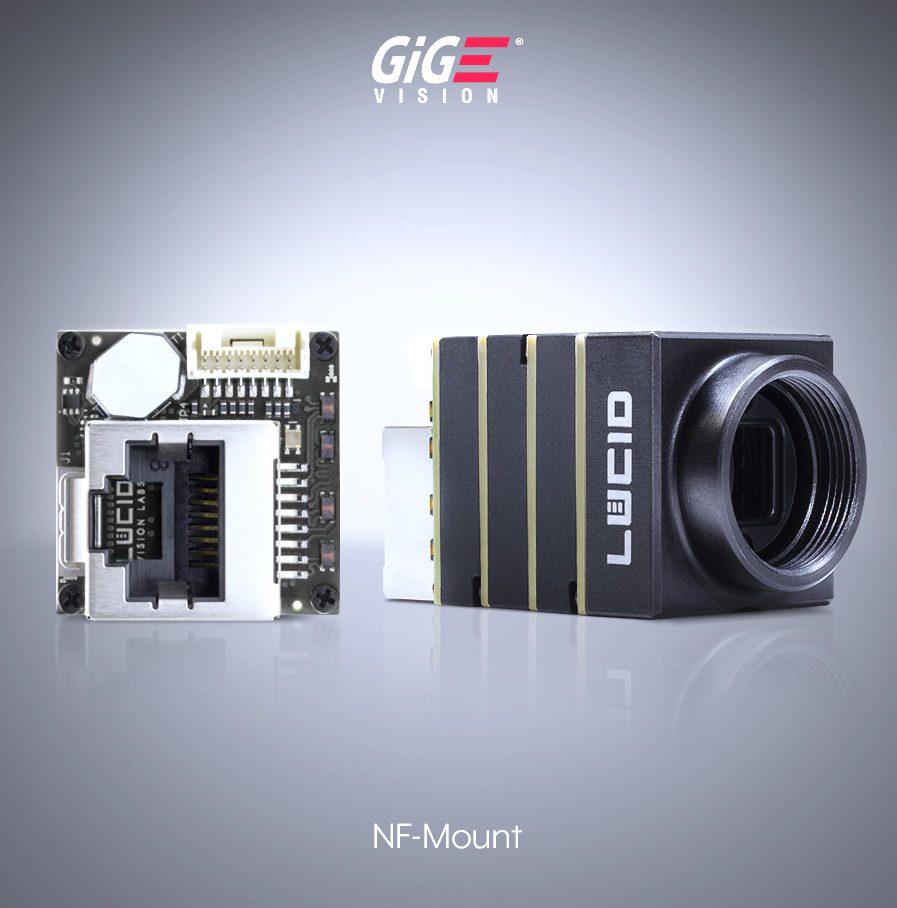 Phoenix NF-mount Camera with RJ45