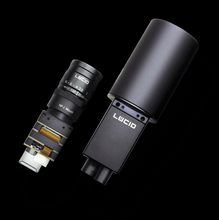 Phoenix and Triton machine vision cameras