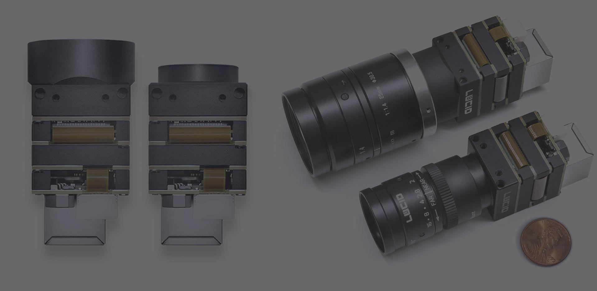 Polarization camera Lucid model