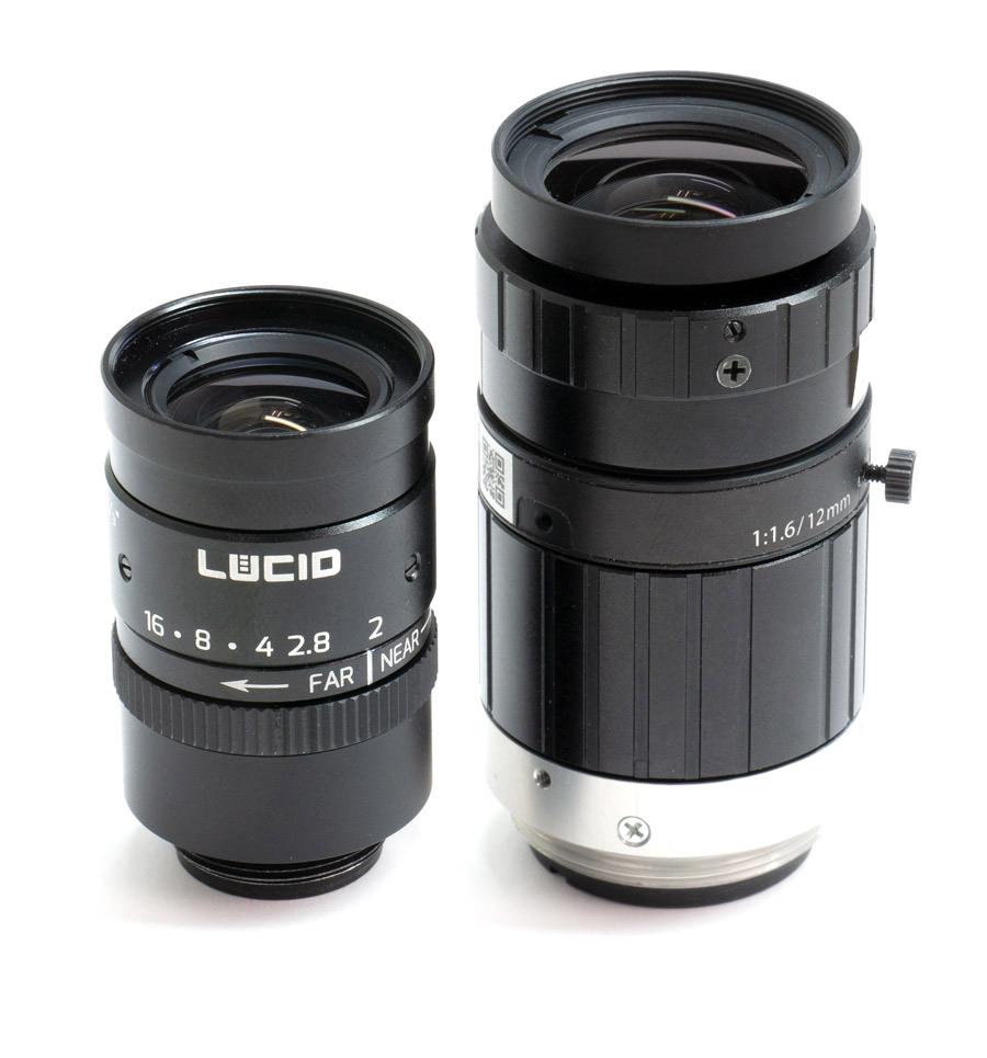 NF-Mount Lens Vs C-Mount size