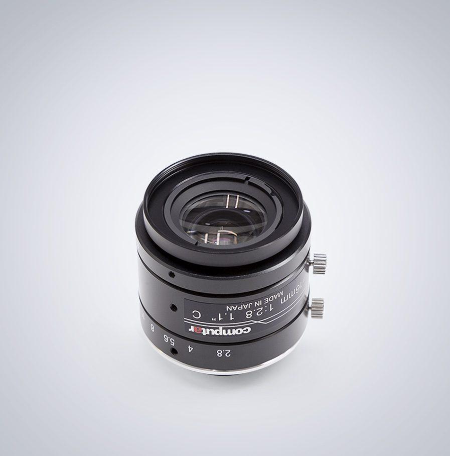 Computar 1628-mpy 16mm lens angled