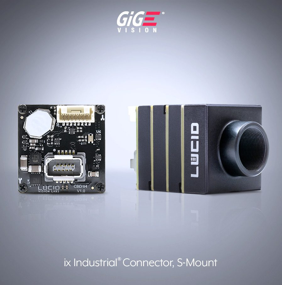 Phoenix S-Mount GigE Vision Camera IX connector side image