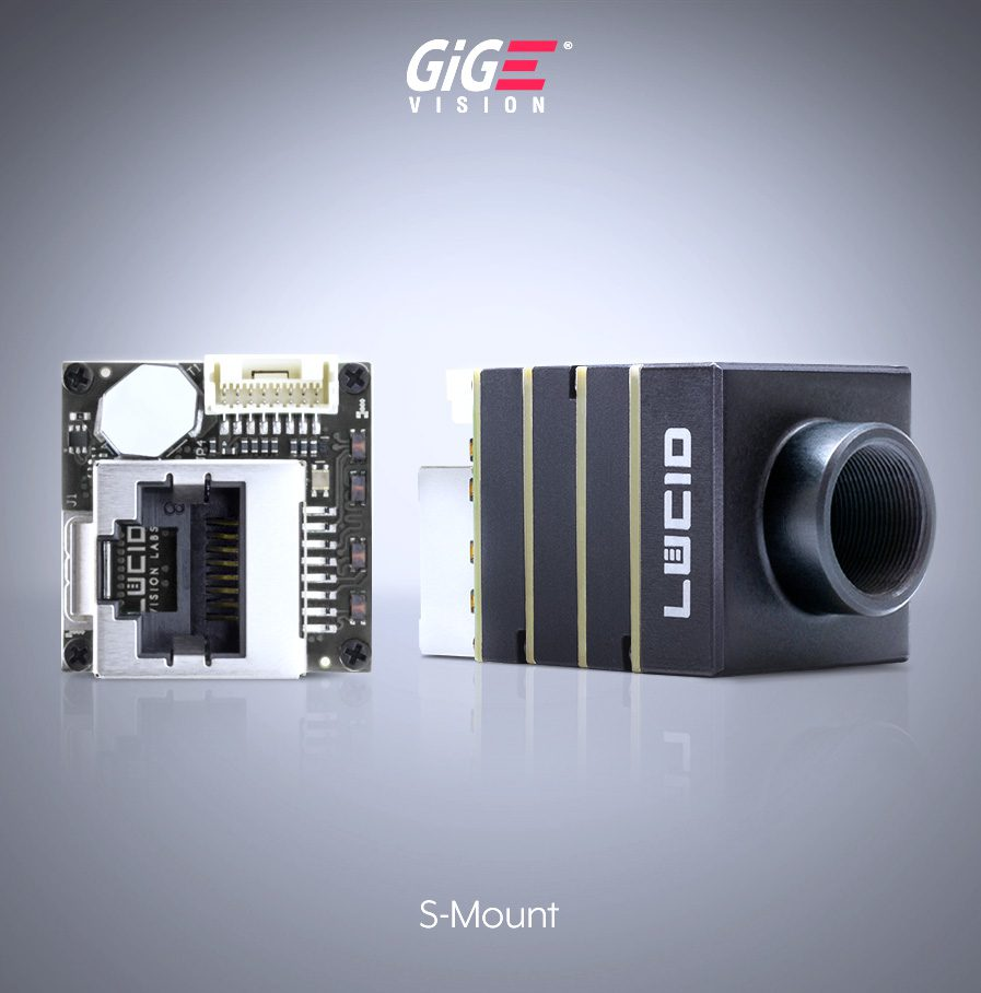 Phoenix S-Mount GigE Vision Camera side image