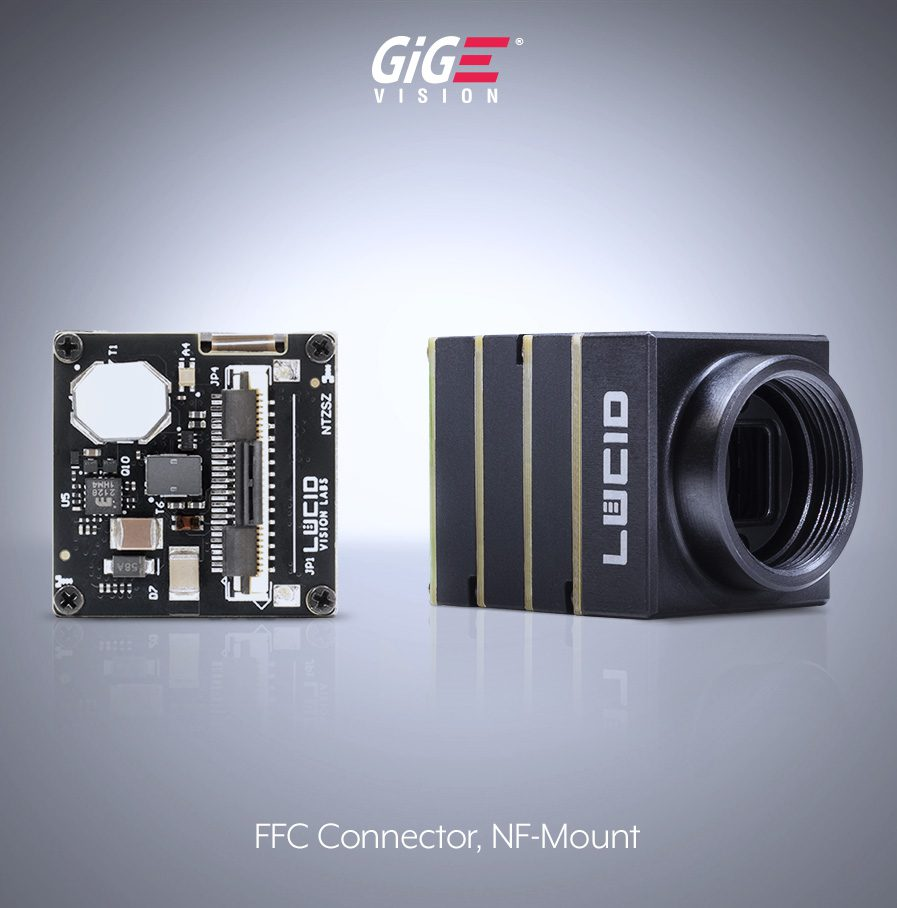 Phoenix camera with NF-mount and FFC (ZIF) connector