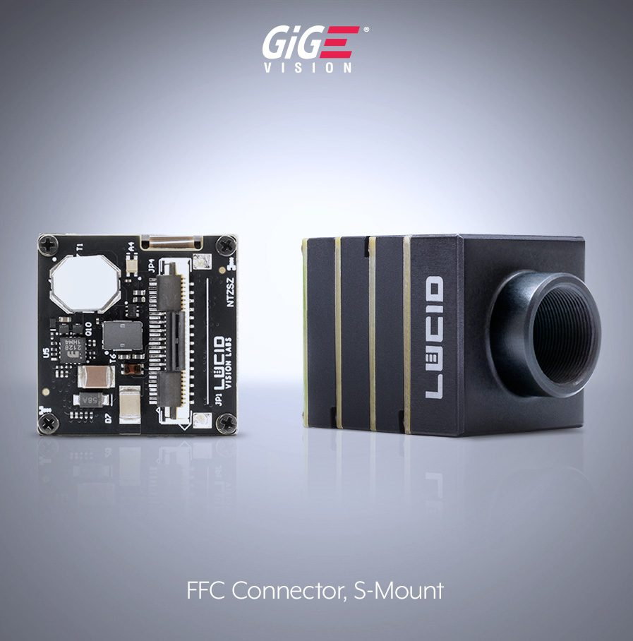 Phoenix camera with S-mount and FFC (ZIF) connector