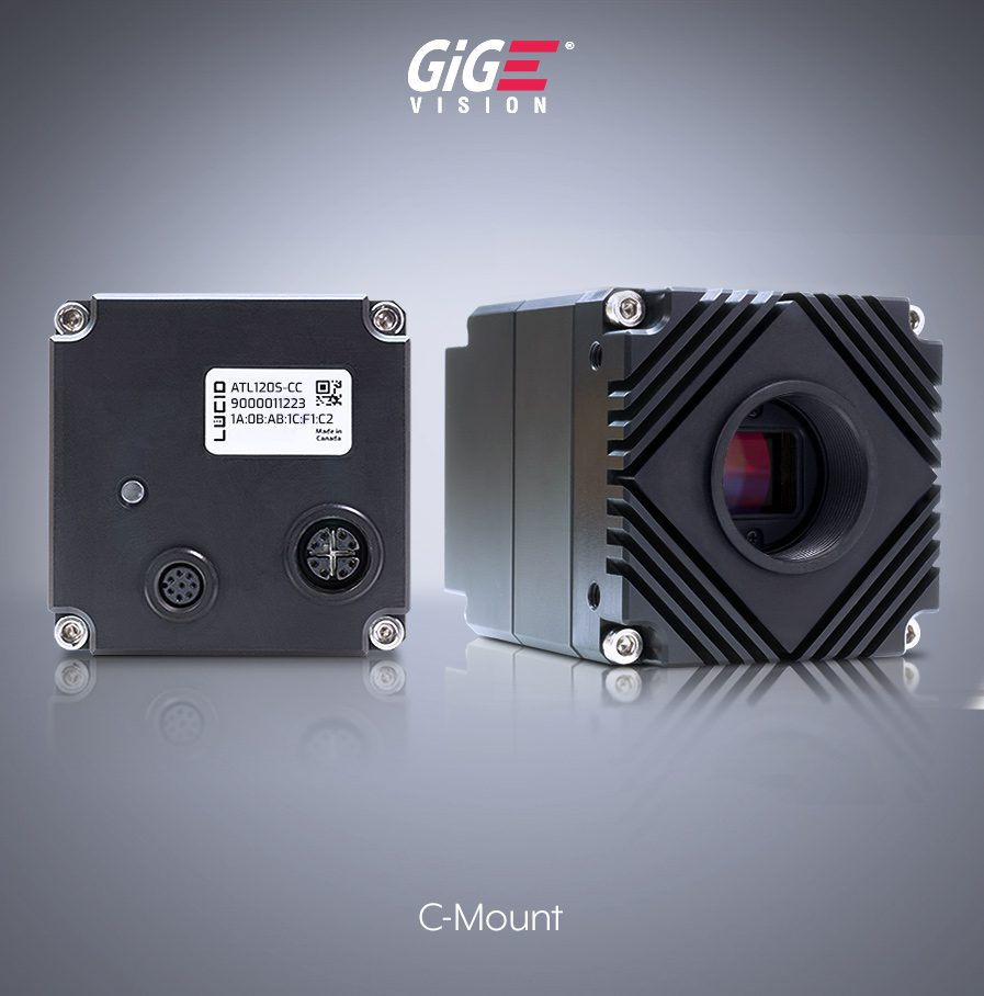 Atlas 5gige 5gbase-t camera c-mount front and back