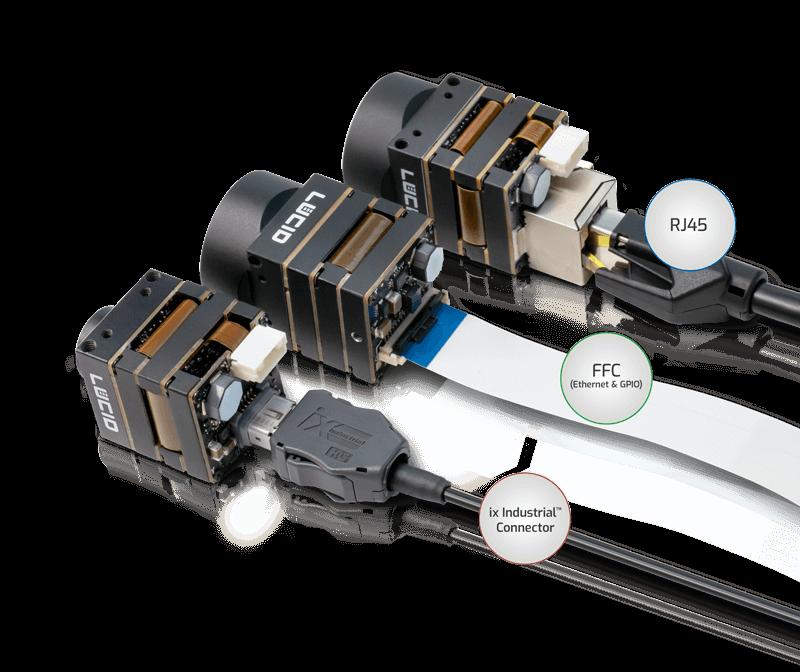 Phoenix Ethernet Connectors options - IX, FFC, RJ45