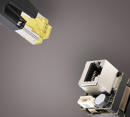 Ethernet Connectors for Phoenix Camera