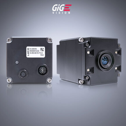 Helios time of flght camera with Sony DepthSense back and side view