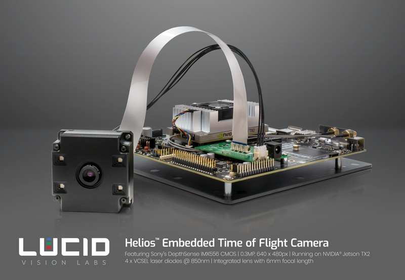 LUCID to Showcase new Helios Time of Flight Camera, Helios