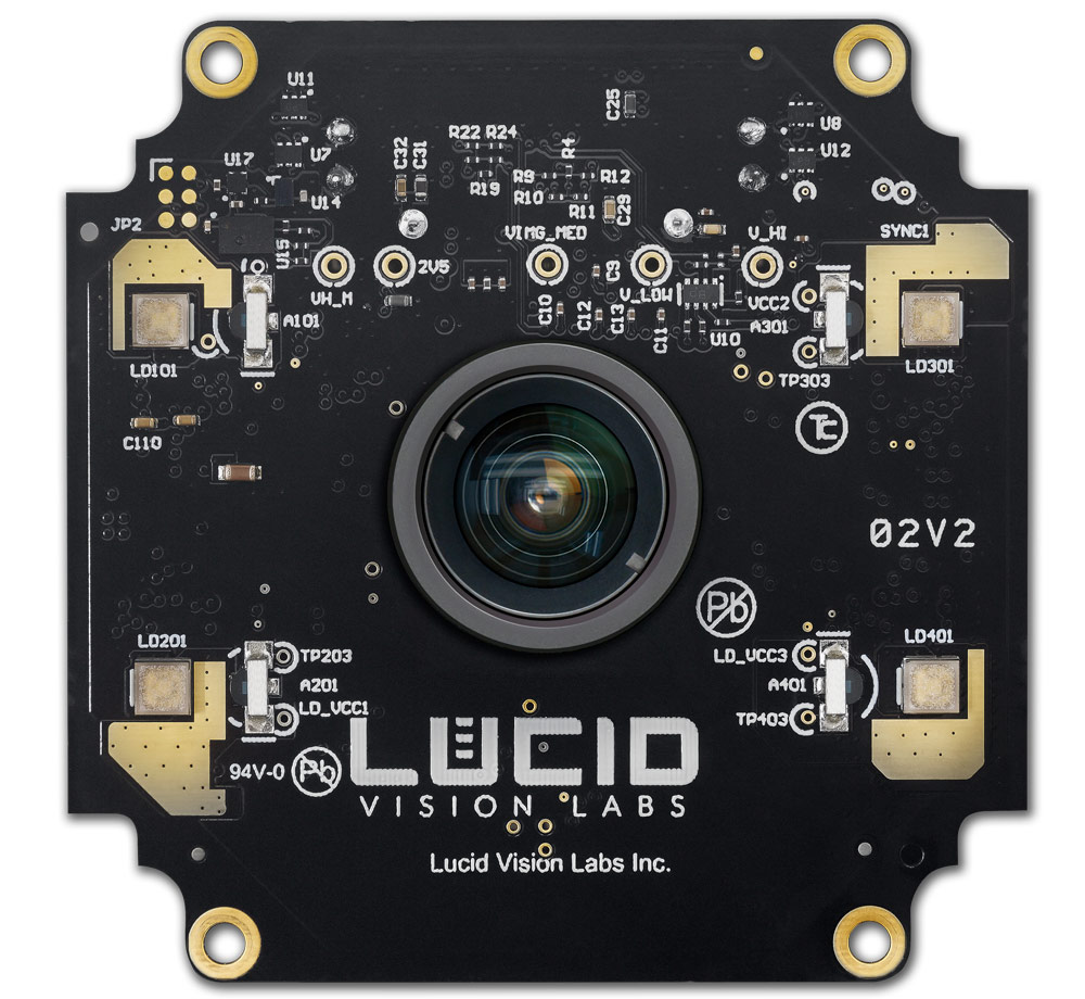 Helios 3D ToF Camera Inside